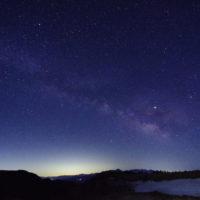 夏の星座と天の川