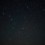 北斗七星と北極星